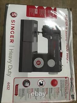 SINGER 4432 Heavy Duty Sewing Machine (Open Box) Read Desc