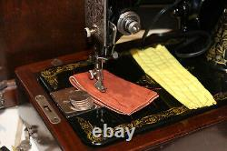 SINGER 99-13 Industrial Strength Heavy Duty Sewing Machine Sews Leather Jeans