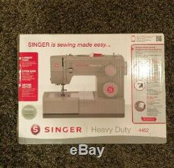 SINGER Heavy Duty 4452 Sewing Machine with 110 Stitch Applications SHIPS FAST
