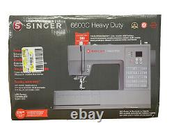 SINGER Heavy Duty 6600C Computerized Sewing Machine
