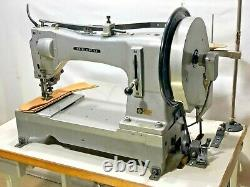 Seiko Slh-2b Super Heavy Duty Long-arm Walking Foot Industrial Sewing Machine