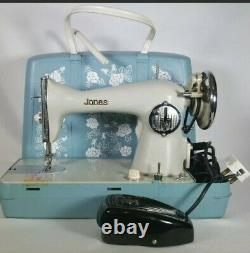 Semi-Industrial Jones CB Model D-69 Heavy Duty Sewing Machine for Leather Denim
