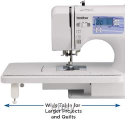 Sewing & Quilting Machine Built-in Stitches LCD Display Heavy Duty Craft Art
