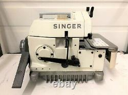 Singer 1831u Late Model High Speed Heavy Duty Serger Industrial Sewing Machine