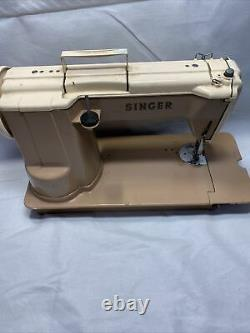 Singer 301A Slant Needle Portable Sewing Machine Heavy Duty