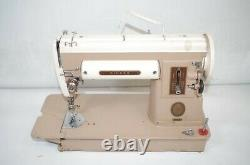 Singer 301A Slant Needle Portable Sewing Machine Heavy Duty As Is