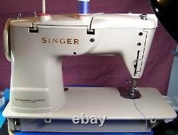 Singer 401g Slant-o-matic Sewing Machine Very Good Condition Heavy Duty