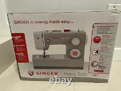 Singer 4411 Heavy Duty Sewing Machine White Open Box