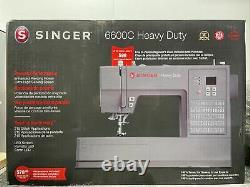 Singer 6600C Heavy Duty Computerized Sewing Machine NEW