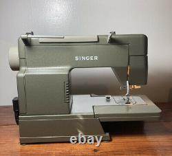 Singer HD110C Sewing Machine Heavy Duty Working Foot Pedal