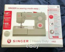 Singer Heavy Duty 4452 Sewing Machine BRAND NEW Fast Free Shipping