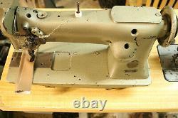 Singer Industrial Heavy Duty Single Needle Feed Leather Sewing Machine 111W151