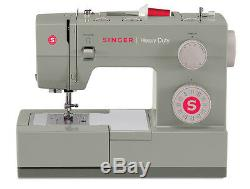 Singer Sewing Machine 4452 Heavy Duty with 32 Built-in Stitches +Exclusive Bonus