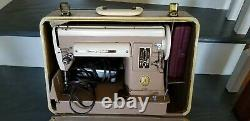 Vintage 1951 Singer 301A Slant Needle Heavy Duty Sewing Machine with Original Case