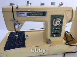 Vintage Brother Galaxie 221 Heavy Duty Industrial Sewing Machine WORKS