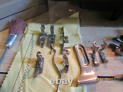 Vintage Calanda 3000 Heavy Duty Zig Zag Sewing Machine same as PFAFF 130