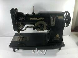 Vintage Commercial Heavy Duty Durkopp Adler Sewing Machine Germany 252 2