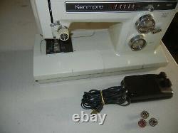 Vintage Kenmore Sewing Machine 158.19411 Zig-Zag Heavy Duty Japan Sears