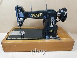 Vintage Pfaff 30 Heavy Duty Electric Sewing Machine