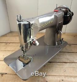 Vintage SINGER 215G Heavy Duty Semi-Industrial SEWING MACHINE