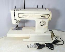 Vintage Sears Kenmore 158.12112 Heavy Duty Sewing Machine with Foot Pedal TESTED