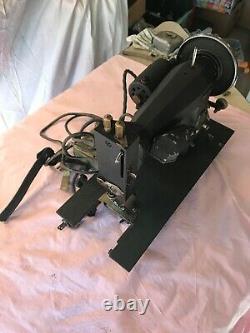 Vintage Sears-roebuck Kenmore Heavy Metal Rotary Sewing Machine, Model 117-552