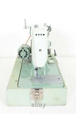 Vintage Sewmor 970 Heavy Duty Sewing Machine 700 Series Japan WithCase Tested