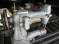 Vintage Singer 133k18 Darning Industrial Sewing Machine Heavy Work Sack Canvas