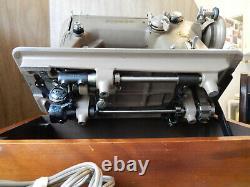 Vintage Singer 306W 1950s Heavy Duty Sewing Machine Bundle Tested