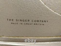 Vintage Singer 328K Heavy Duty Sewing Machine Style-O-Matic With Foot Pedal