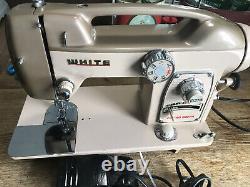 White Sewing Machine Model 764 Heavy Duty Zigzag